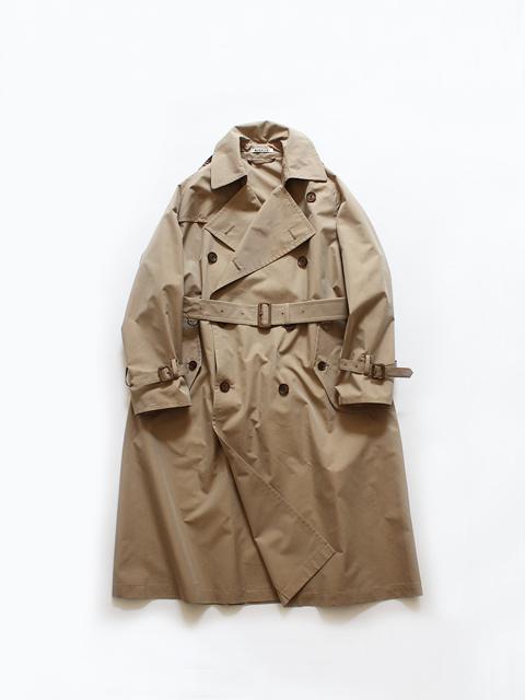 AURALEE (オーラリー) FINX POLYESTER BIG TRENCH COAT (トレンチコート) - A20SC02FP