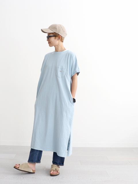 THE NORTH FACE PURPLE LABEL (ザ ノースフェィス パープルレーベル) 5.5oz H/S Crew Neck Dress (Tシャツワンピース)