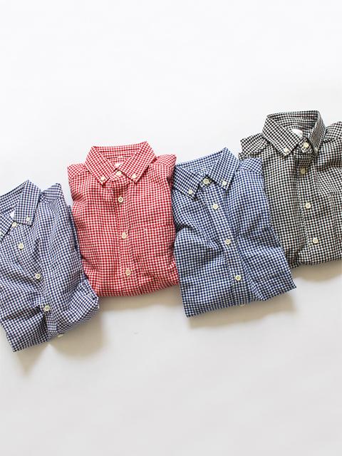 maillot (マイヨ) Sunset Gingham B.D. Shirts (ギンガムB.D) MAS-003