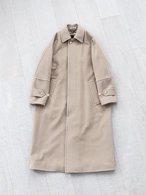 AURALEE (オーラリー) CASHMERE WOOL MOSSER BIG COAT (ウール×カシミヤ・モッサービッグコート)