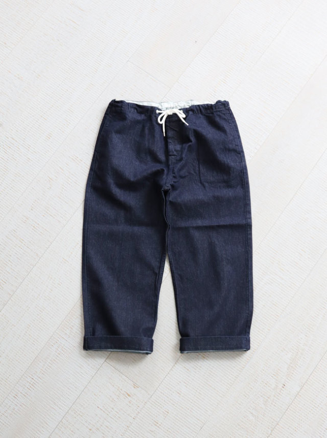 HATSKI(ハツキ)Stitch Wide Easy Pants -Washi HTK-20007
