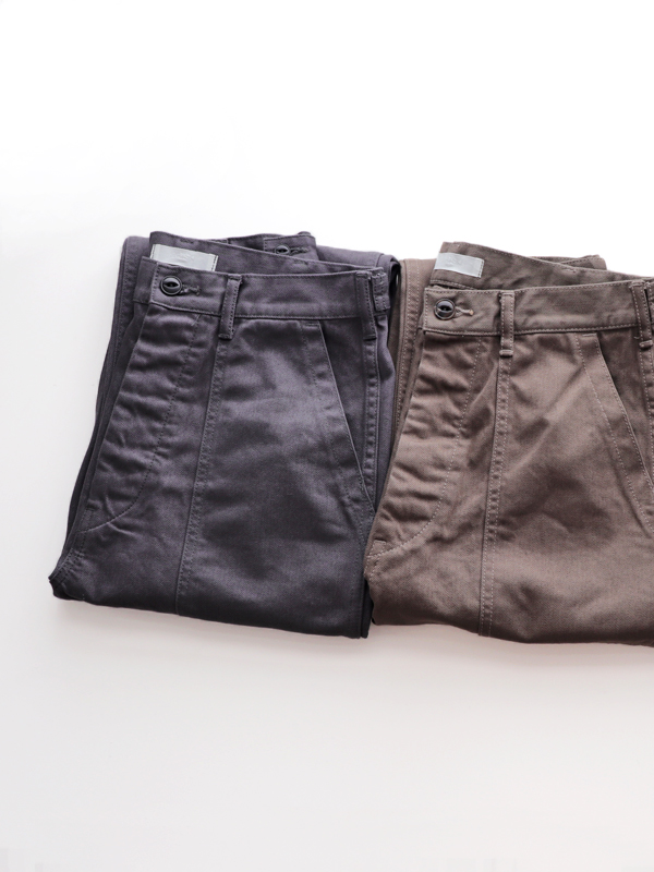 HATSKI(ハツキ) Denim Fatigue Pants -Dyed