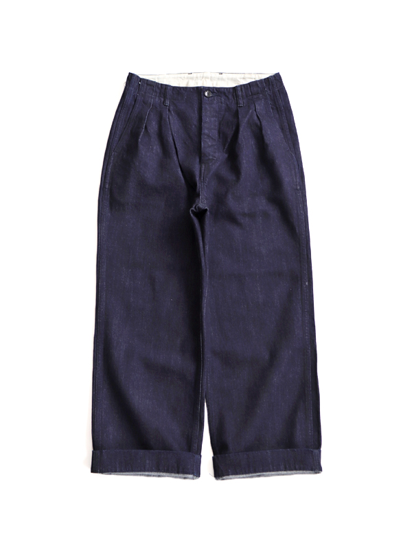 HATSKI(ハツキ) 2Tack Denim Trouser -One Wash