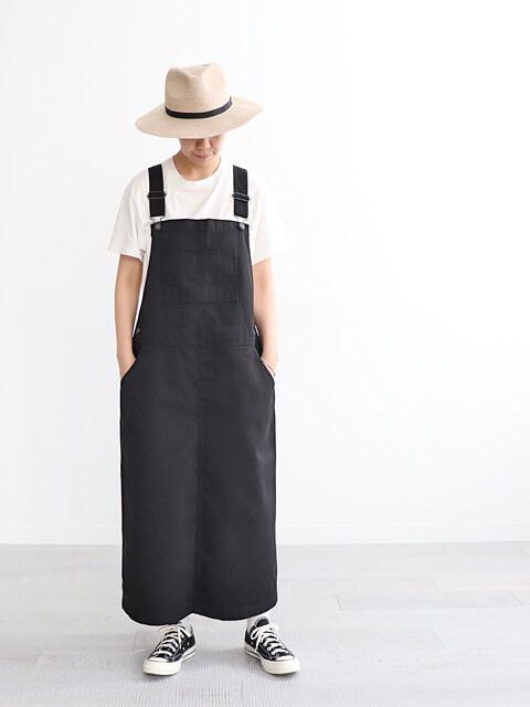 ≪Special Order≫ HATSKI (ハツキ) ジャンパースカート - BLACK