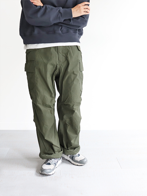 A VONTADE (ア ボンタージ) M-51 Trousers - Modify