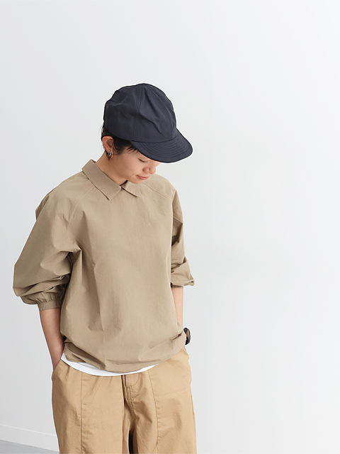 """maillot (マイヨ) """"mature"""" Rub Cotton Polo Smock Shirt (ラヴコットンスモックシャツ) MAS-20159"""