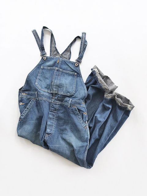 chimala (チマラ) DENIM OVERALL - OLD DENIM (オーバーオール)