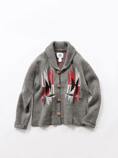 CANADIAN SWEATER JACQUARD (カナディアン セーター ジャガード) フェザー・カーディガン