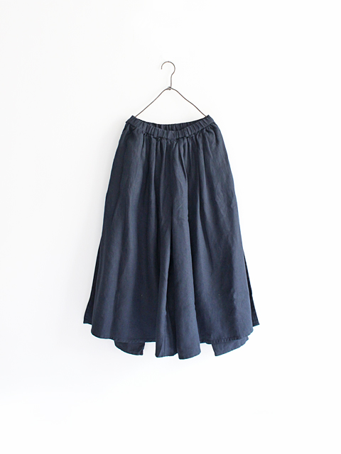 "【60%OFF】 maillot (マイヨ) ""mature"" linen easy double pants (リネン・イージーダブルパンツ) MAP-17265"