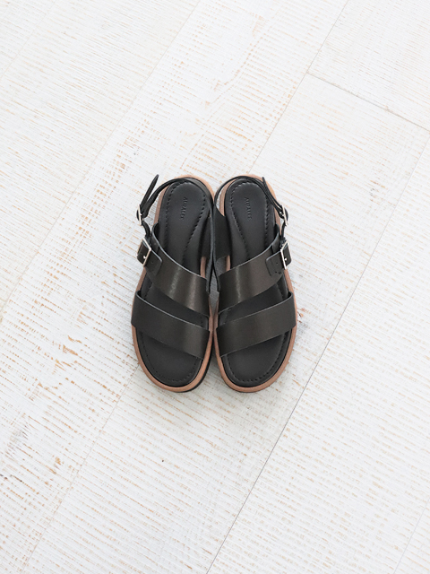 AURALEE (オーラリー) LEATHER BELT SANDALS MADE BY FOOT THE COACHER  (レザーサンダル) -A20SS02FC