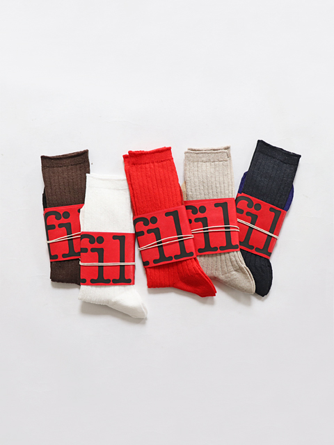 unfil (アンフィル) french linen thin socks (フレンチリネン・ソックス)
