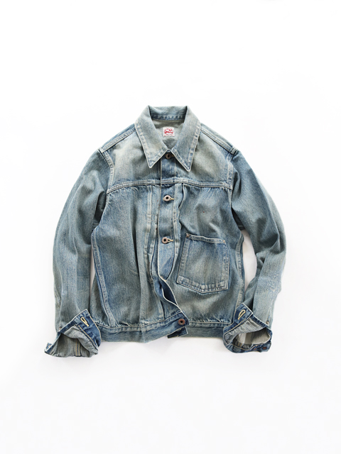 chimala (チマラ) DENIM JACKET - 13.5oz SELVEDGE DENIM (デニムジャケット)
