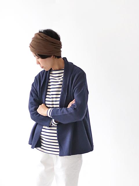 "maillot (マイヨ) ""mature"" Short Robe Cardigan (ショート・ローブカーディガン) MAK-18256"