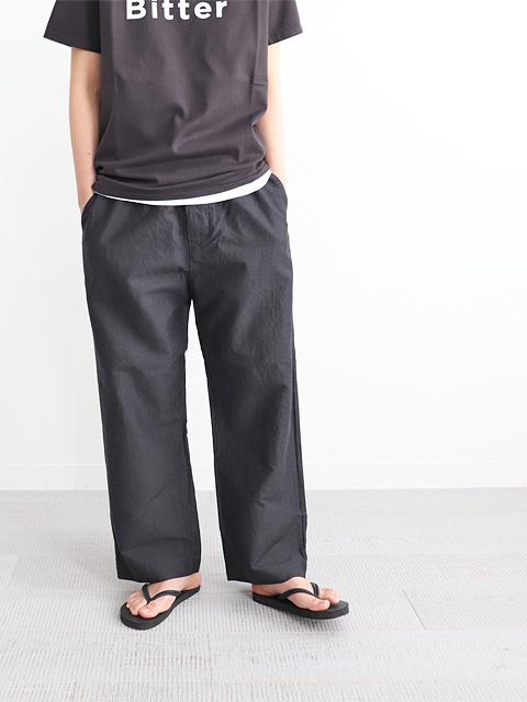 TOUJOURS (トゥジュー) Easy Trousers (ラミー×コットン・イージートラウザー)