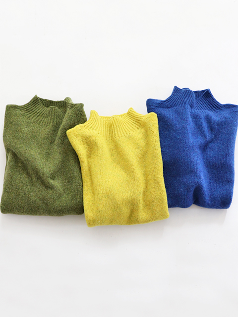 ≪Special Order≫ Nor' Easterly (ノアイースターリー) L/S MOCK NECK (モックネックセーター)