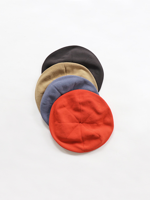 【30%OFF】unfil (アンフィル) high twist cotton knit small beret (コットンニットベレー)
