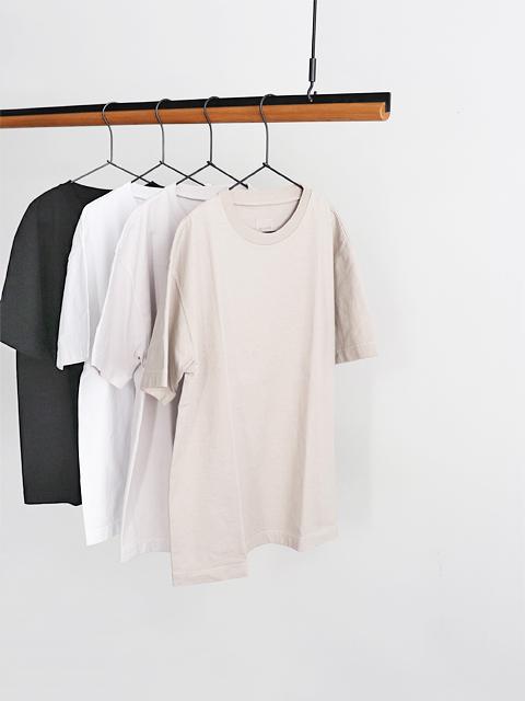 TOUJOURS (トゥジュー) Big T-shirt (半袖Tee)