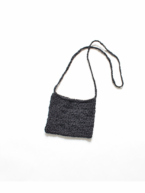 TOUJOURS (トゥジュー) Pochette - FINE COTTON TAPE YARN KNIT - VM28XK04
