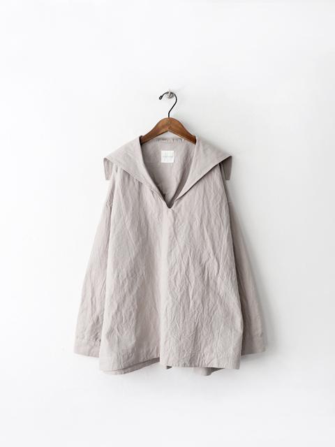 TOUJOURS (トゥジュー) Pullover Sailor Shirt (ラミー×コットン・セーラーシャツ)