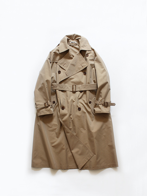 AURALEE (オーラリー) FINX POLYESTER BIG TRENCH COAT (トレンチコート) - A20SC02FP