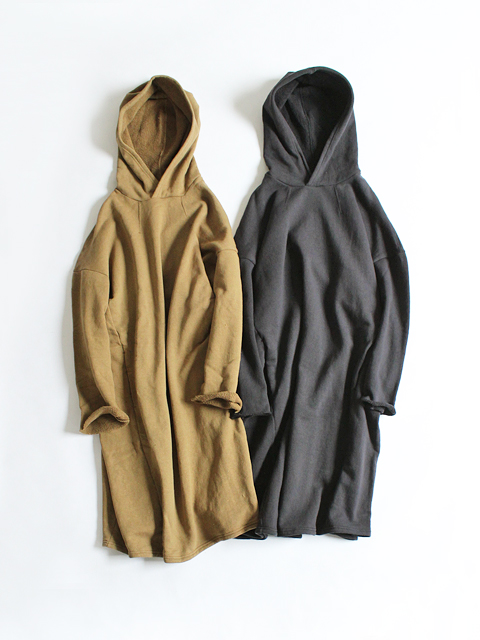 maillot (マイヨ) Sweat Hooded OP (スウェット フードワンピース)