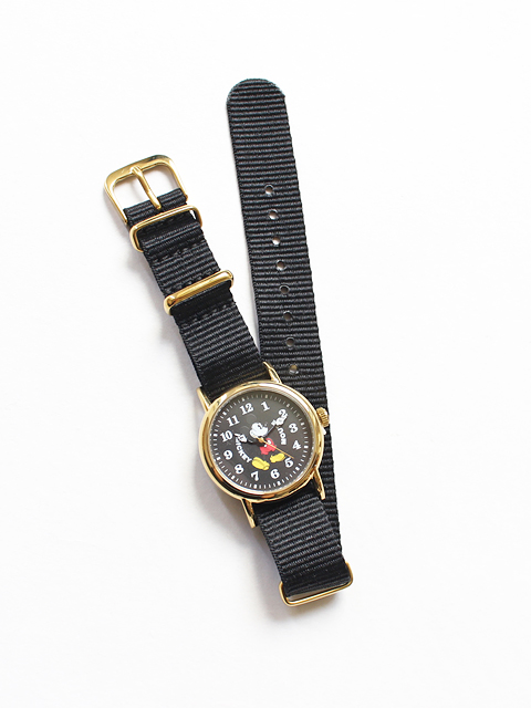 MICKEY MOUSE ミッキーマウス腕時計 - ナイロンベルト