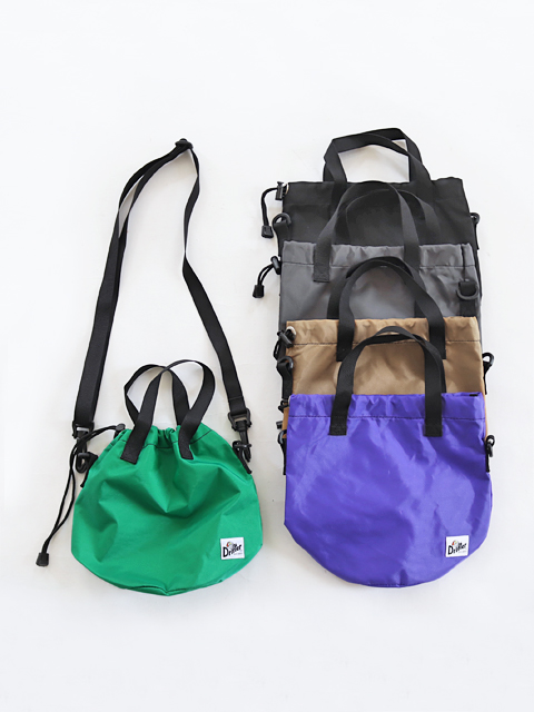 Drifter (ドリフター) DRAWSTRING POUCH - 2way bag