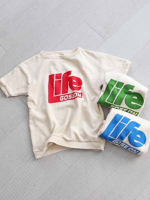 ≪Special Order≫ Mixta (ミクスタ) 半袖スウェット - LIFE