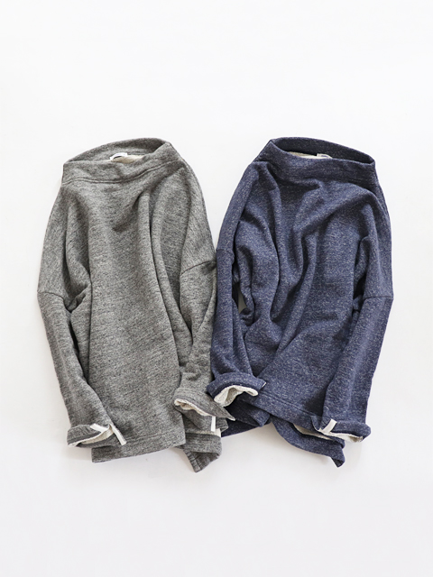 ≪Special Order≫ maillot (マイヨ) Bottle Neck Wide Sweat (ボトルネック・ワイドスウェット) SAR-18201