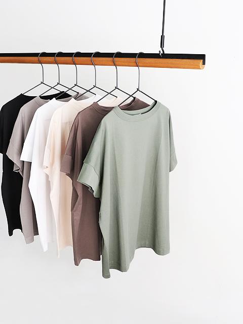 【20%OFF】handvaerk (ハンドバーク) ボトルネック・S/STシャツ (半袖)