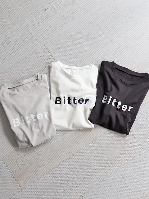 "TOUJOURS (トゥジュー) ""Bitter Sweet"" Print T-shirt (プリントTee)"