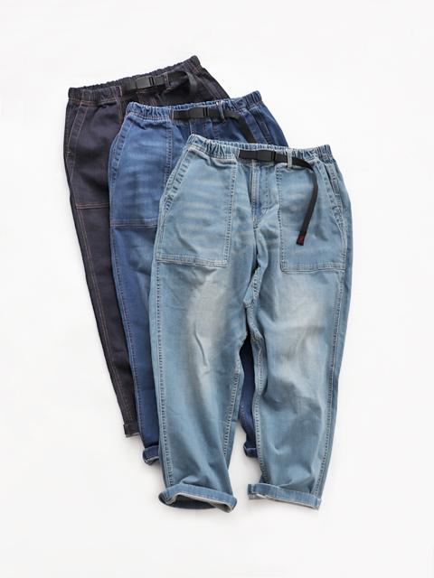 GRAMICCI (グラミチ) DENIM LOOSE TAPERED PANTS (デニム・ルーズテーパードパンツ/メンズサイズ)