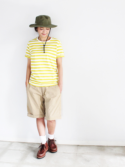 maillot (マイヨ)  Border Short Seeve Tee (半袖ボーダー)