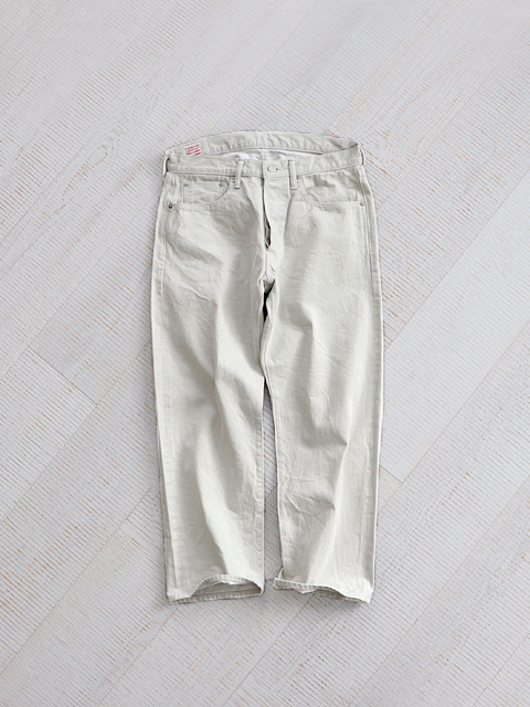 ≪Special Order≫ A VONTADE (ア ボンタージ) 5Pocket Jeans - ICE GRAY (アイスグレー)