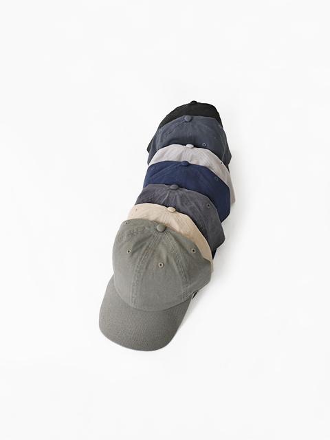 newhattan (ニューハッタン) Baseball Low Cap - TWILL (ツイルキャップ)