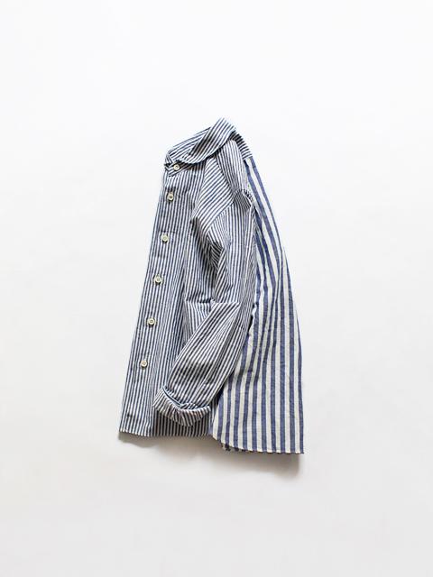 maillot (マイヨ) Lady Combi Shirt - Stripe (ストライプ・コンビシャツ) MAS-18212