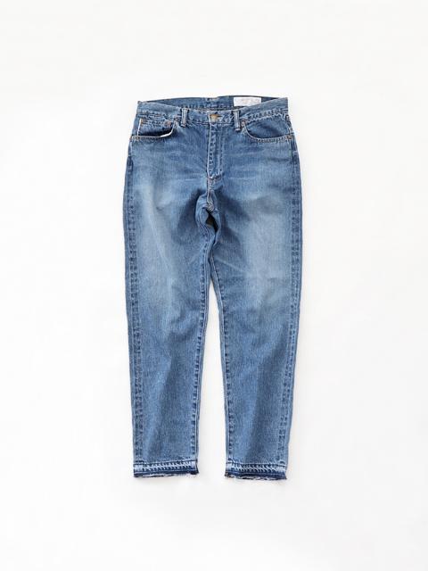 Americana (アメリカーナ) テーパード5Pジーンズ - USED加工