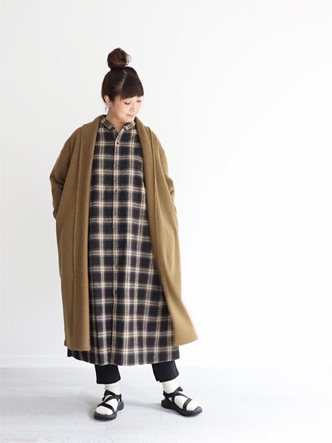 """maillot (マイヨ) """"mature"""" Long Robe Cardigan (ロング・ローブカーディガン) MAK-18257"""