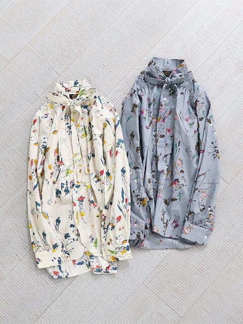 Needles (ニードルズ)  Ascot Collar EDW Shirt - 花柄ブラウス