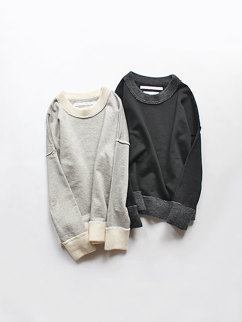 White Mountaineering (ホワイトマウンテニアリング) DROP SHOULDER SIDE ZIPPED PULLOVER (サイドジップトップス)