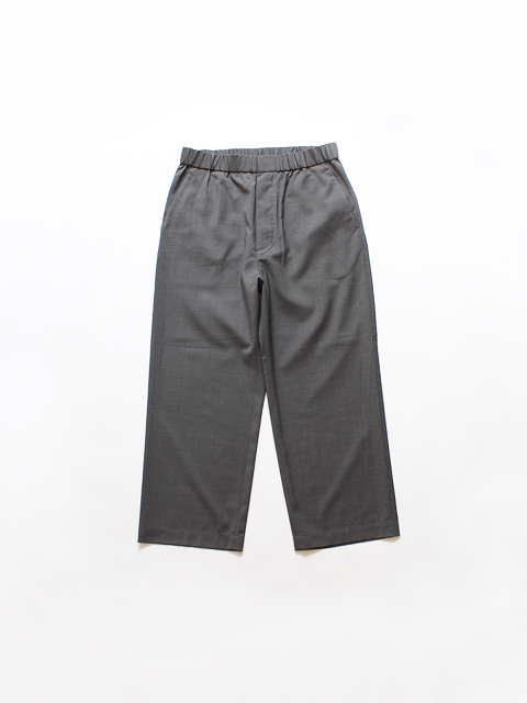 TOUJOURS (トゥジュー) Easy Trousers - SUPER 100's NATURAL STRETCH WORSTED WOOL CLOTH
