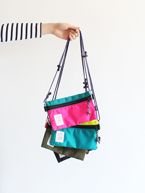 TOPO DESIGNS (トポデザイン) ACCESSORY BAG with Rope Strap (サコッシュ)