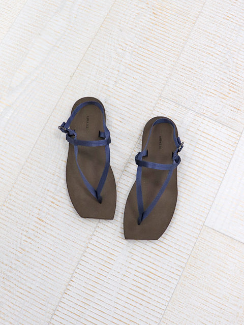 【20%OFF】AURALEE (オーラリー) BELTED BEACH SANDALS MADE BY FOOT THE COACHER  (サンダル) -A21SS03FT