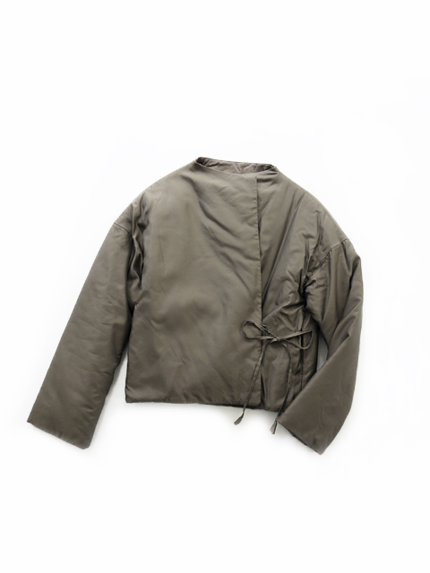 TOUJOURS (トゥジュー) Padded String Short Jacket - KM31EJ02