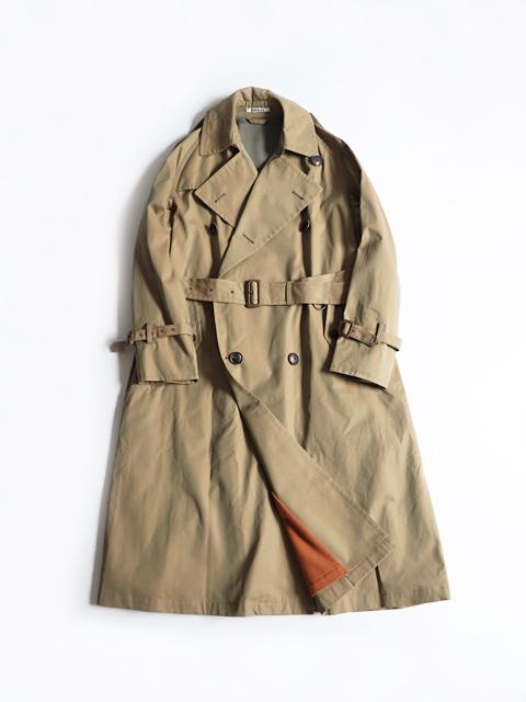 AURALEE (オーラリー) FINX CHAMBRAY BIG TRENCH COAT (トレンチコート)