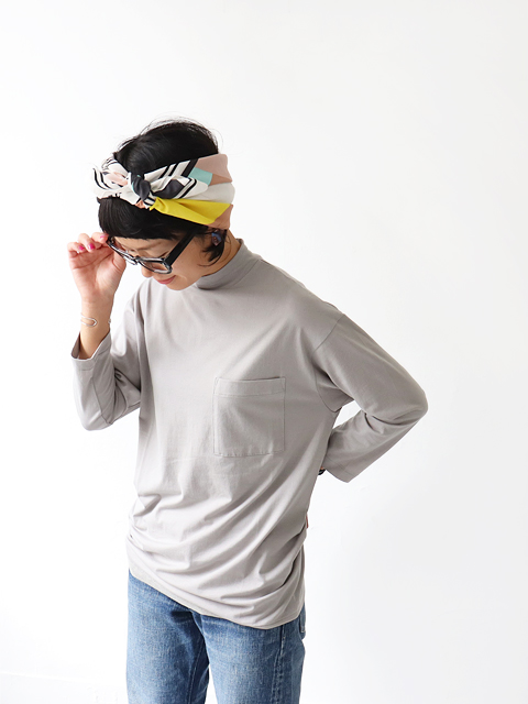 ALWEL (オルウェル) 3/4 SLV HIGH NECK T - 七分袖ハイネックTee