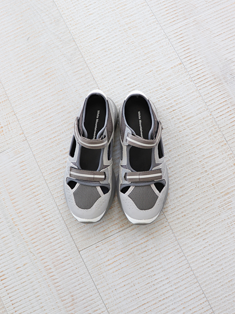 White Mountaineering (ホワイトマウンテニアリング) REFLECTIVE CONTRASTED VIBRAM SOLE SANDAL