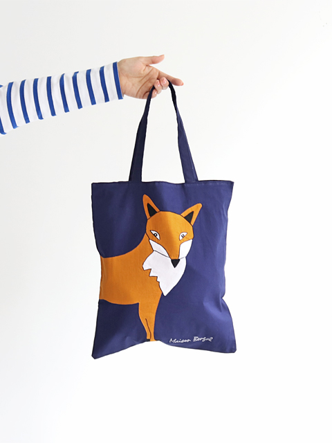 MAISON BENGAL (メゾンベンガル) Tote Bag - FOX