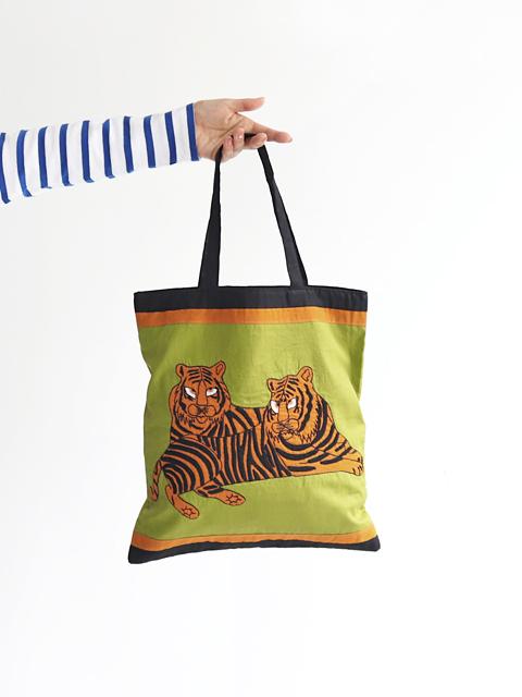 MAISON BENGAL (メゾンベンガル) Tote Bag - TIGER