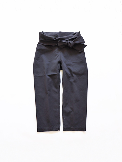 TOUJOURS (トゥジュー)  Thai Style Narrow Pants - GARMENT DYE GIZA COTTON CLOTH - TM28UP01
